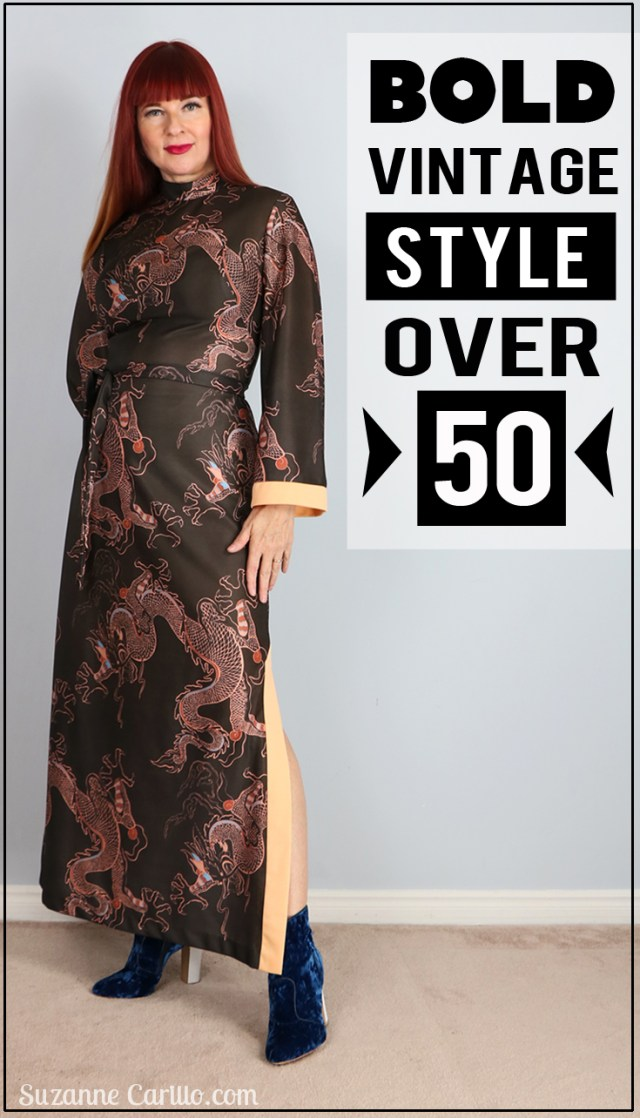 bold vintage style over 50