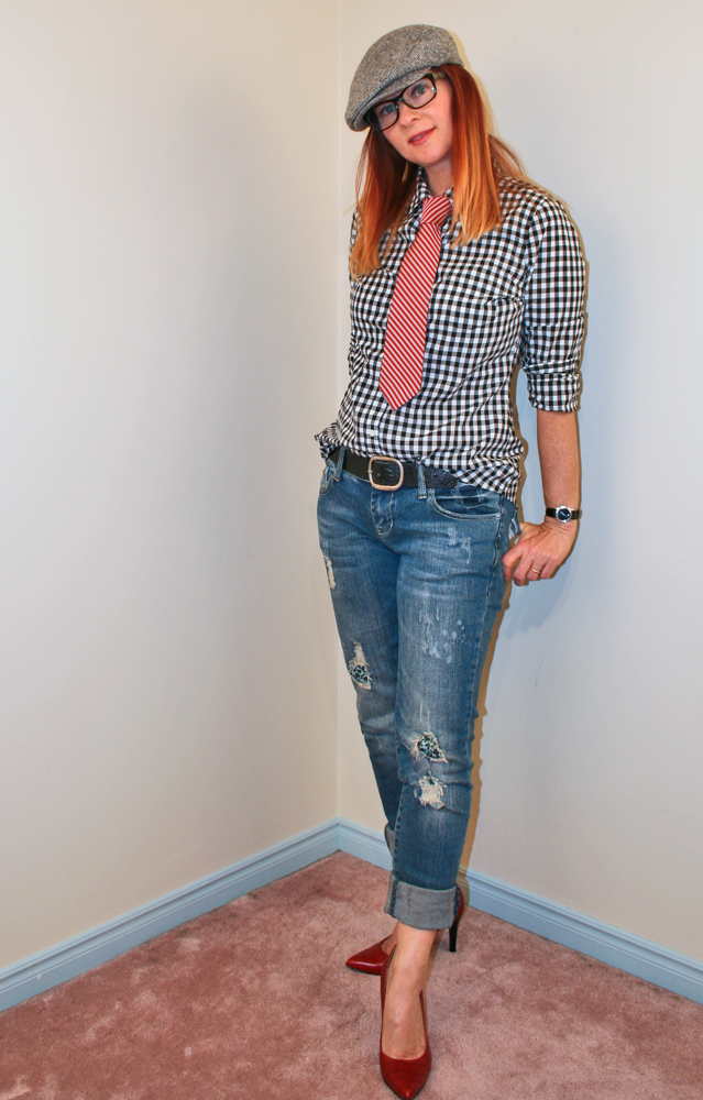 How to wear gingham over 40 Suzanne Carillo