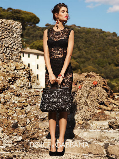 Dolce-Gabbana-lace dress