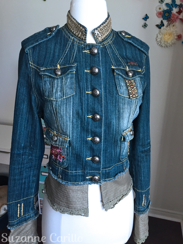 jean jacket as art dedra front