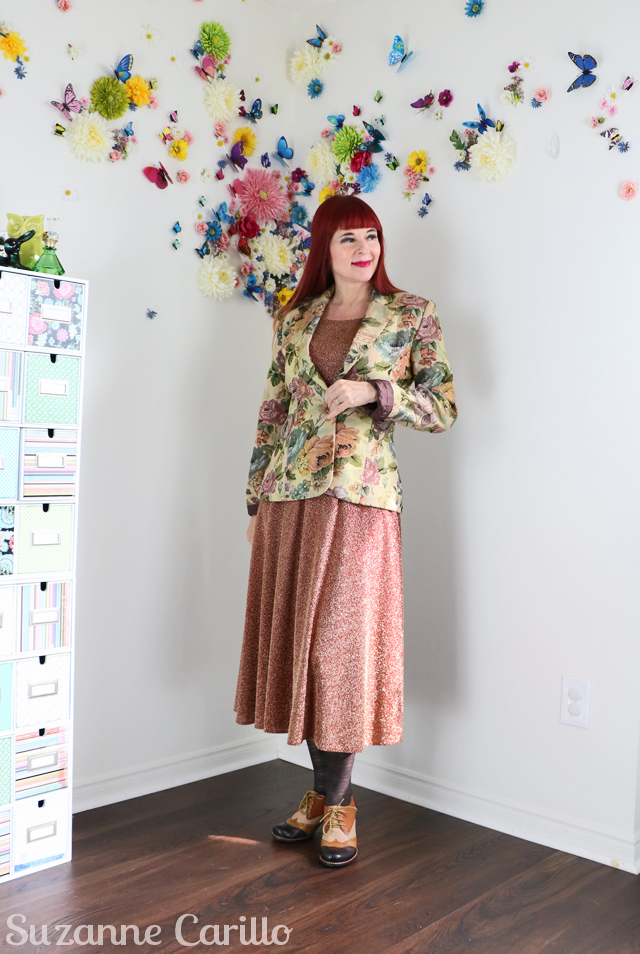 how to layer vintage clothing suzanne carillo
