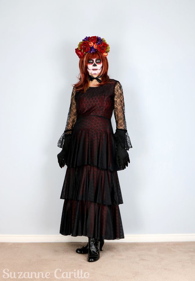 day of the dead costume idea by suzanne carillo style for women over 40