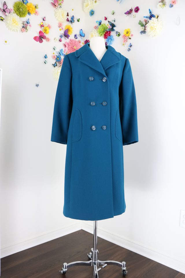 buy 1960s vintage long wool winter coat online