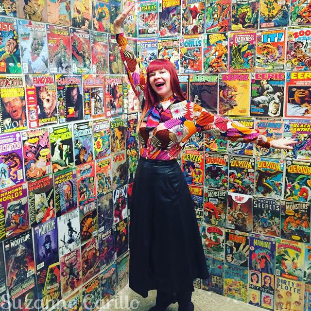 the comic book room guilermo del toro
