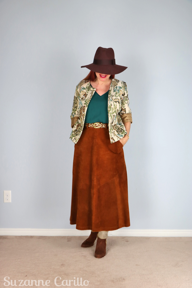 dressing like an urban cowgirl over 50