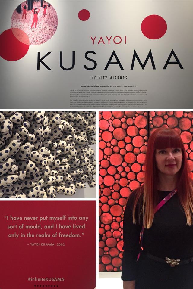 Yayoi Kusama Toronto AGO 2018 Suzanne Carillo