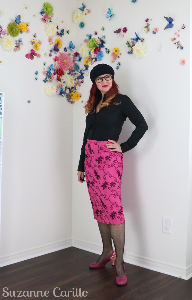 how to wear a vintage skirt over 50 suzanne carillo