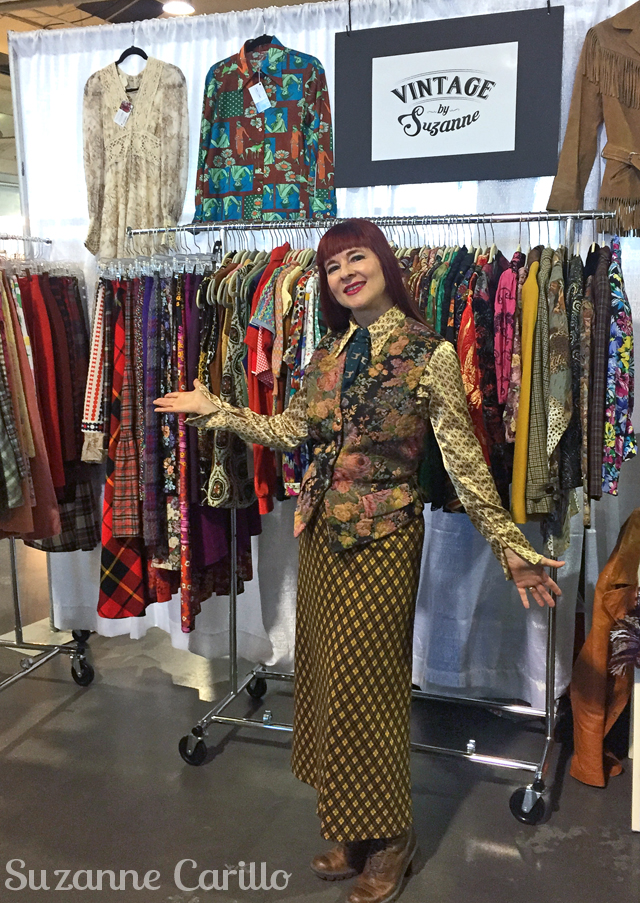 suzanne toronto vintage clothing show 2018