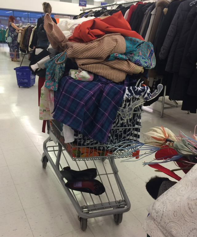 cart full clothing suzanne carillo talize shopping