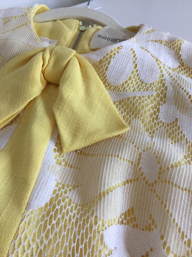 vintage daisy dress lace overlay