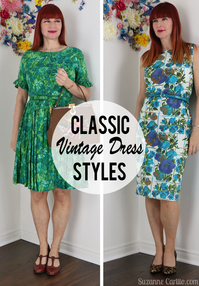 2 classic vintage dress styles suzanne carillo