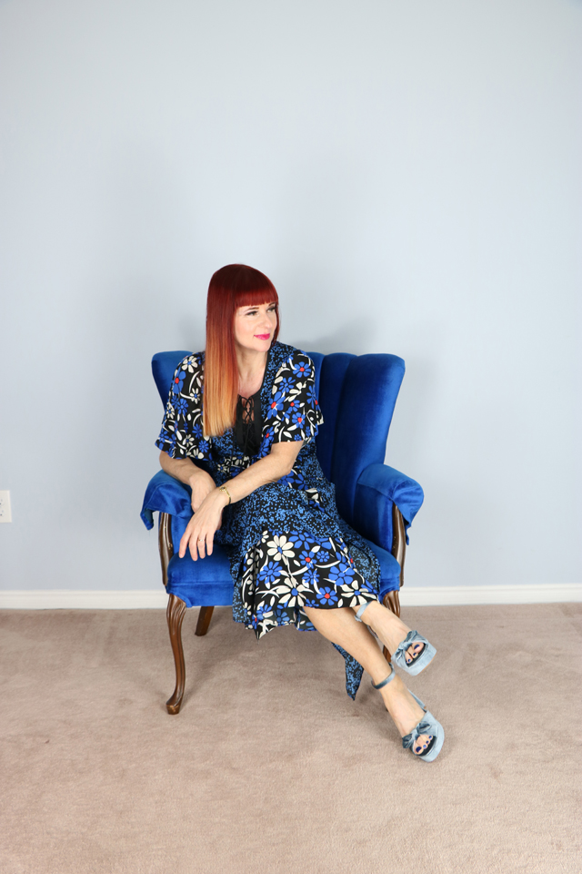 walter baker boho floral maxi dress for sale suzanne carillo style