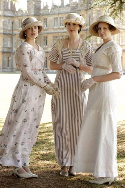dowton Abbey sun dresses