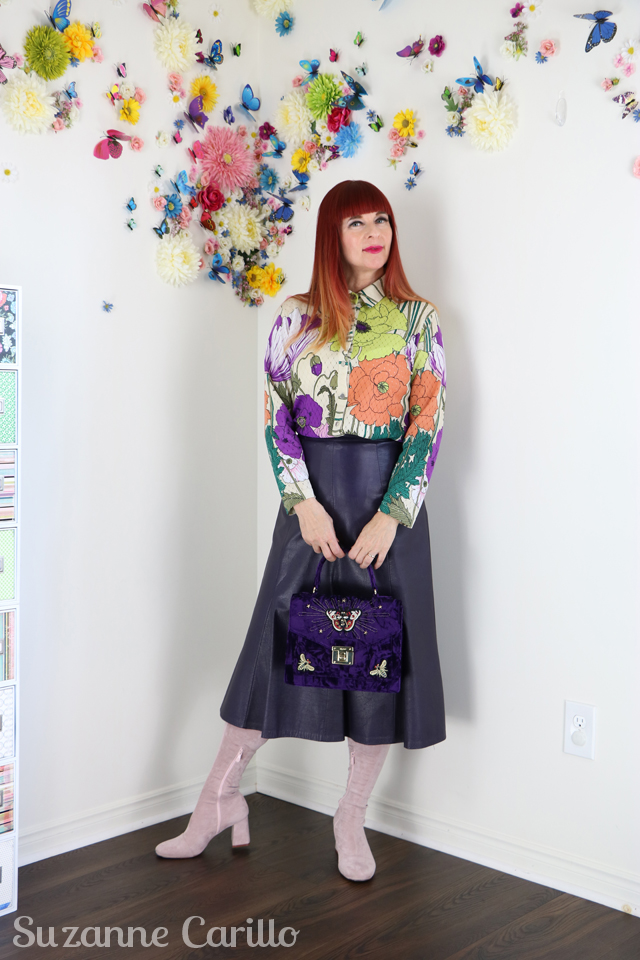 how to create thrifted gucci style suzanne carillo