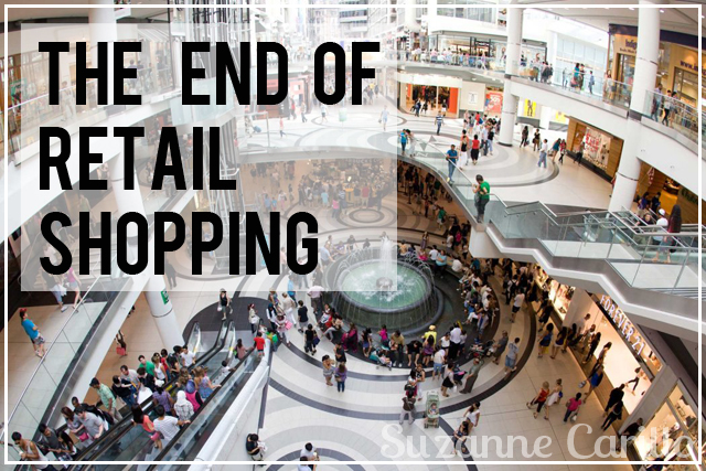 the end of retail shopping
