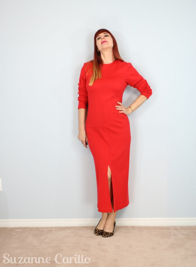vintage 1980s red spanner dress for sale vintagebysuzanne on etsy
