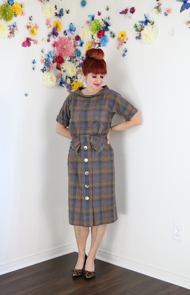 vintage plaid for fall suzanne carillo style over 50