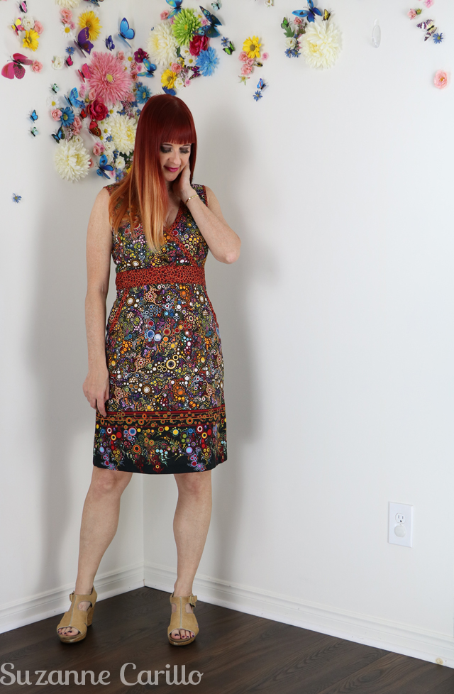 summer fall dress suzanne carillo