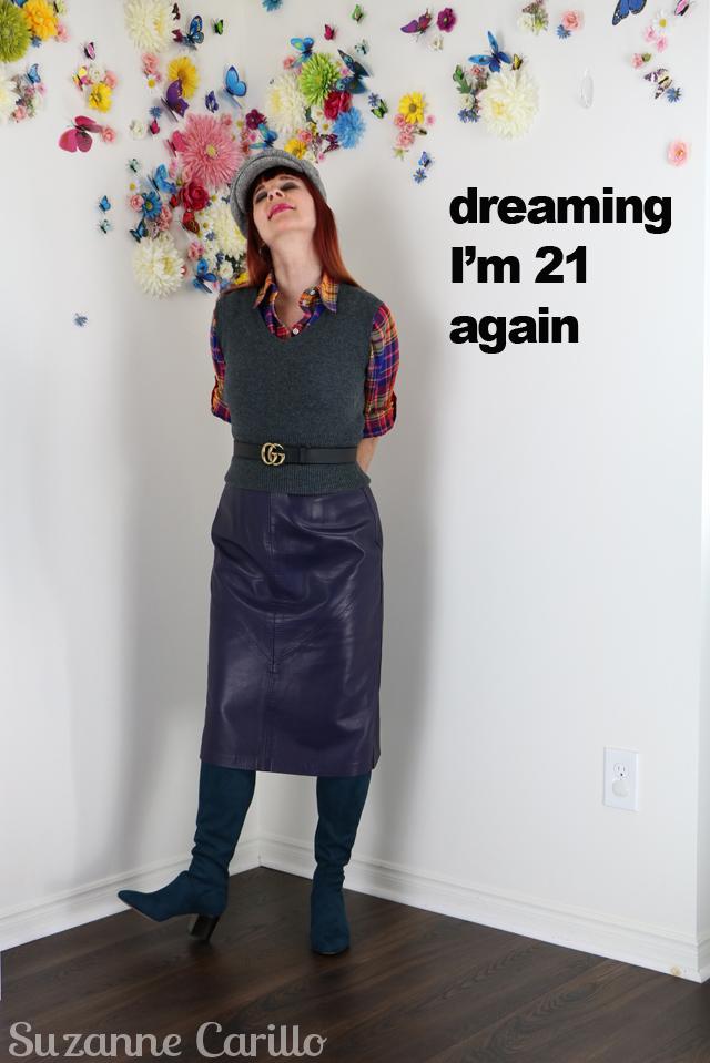 dreaming im 21 again suzanne carillo style