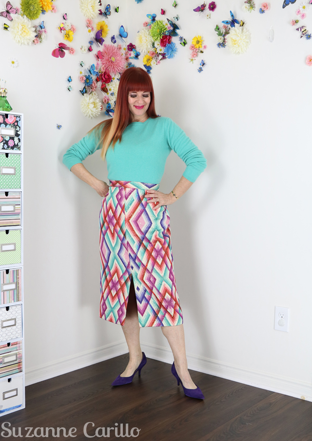 rainbow plaid skirt for sale suzanne carillo