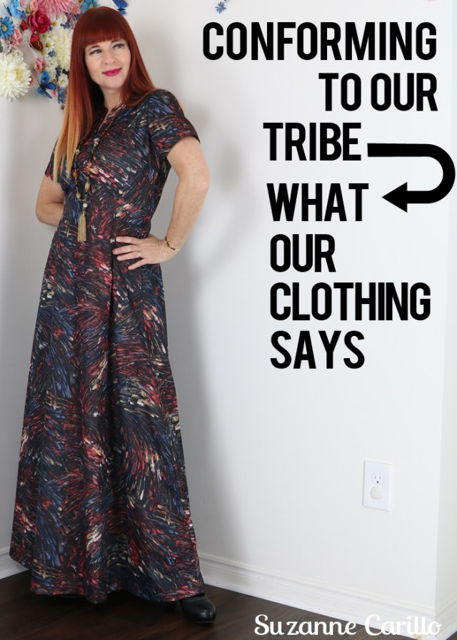 conforming to our tribe via our clothing choices what our clothing says about us