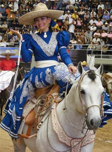 Escaramuza Mexican cowgirls