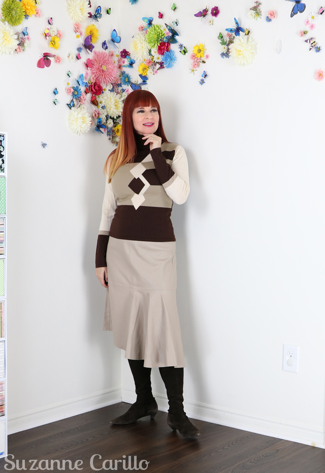 Wear Beige Without Blending In - 1 Skirt 3 Outfits