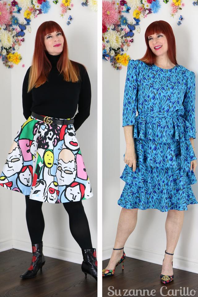 vintage skirt and dress for sale vintagebysuzanne on etsy