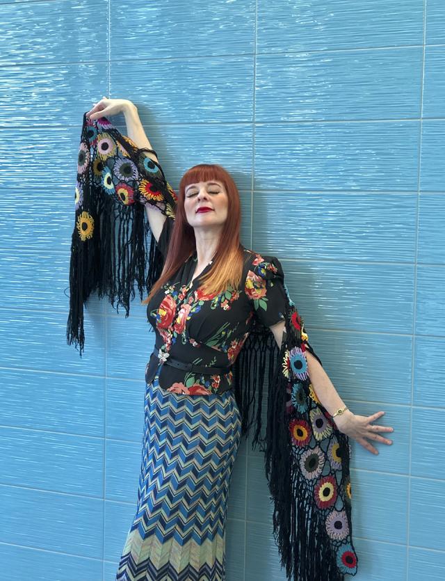 Suzanne Carillo Gucci geek boho chic style