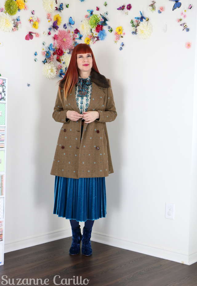 how to dress in secondhand clothing