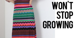 the dress that wont stop growing