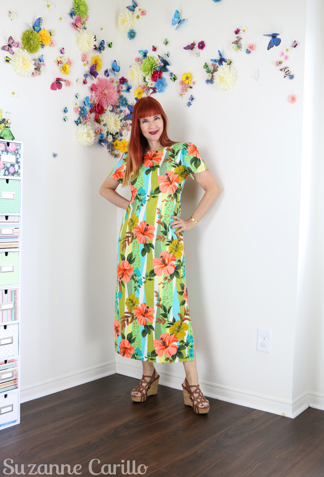 vintage cotton maxi dress suzanne carillo how to cope with hot flashes