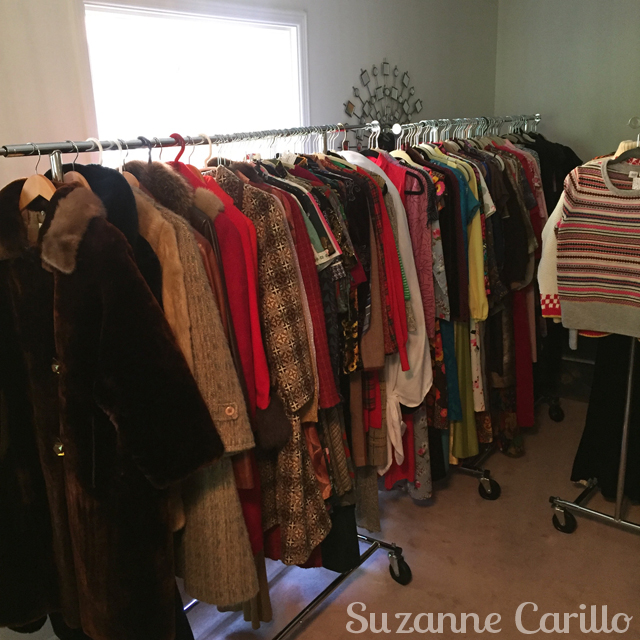 preparing for the toronto vintage clothing show