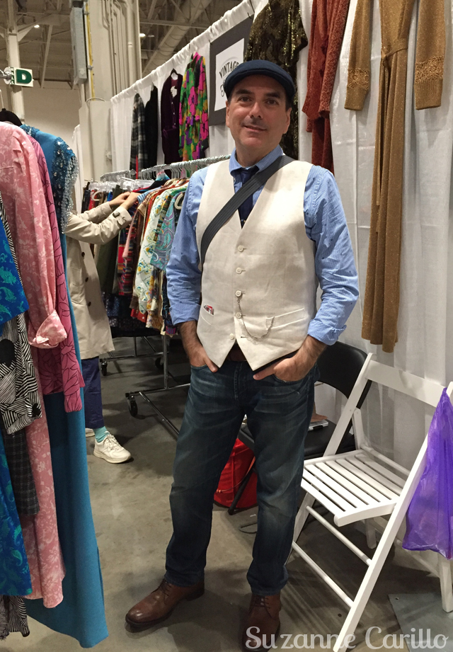 robert carillo toronto vintage clothing show