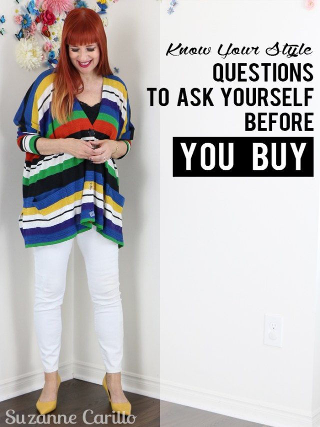 know your style questions to ask yourself before you buy