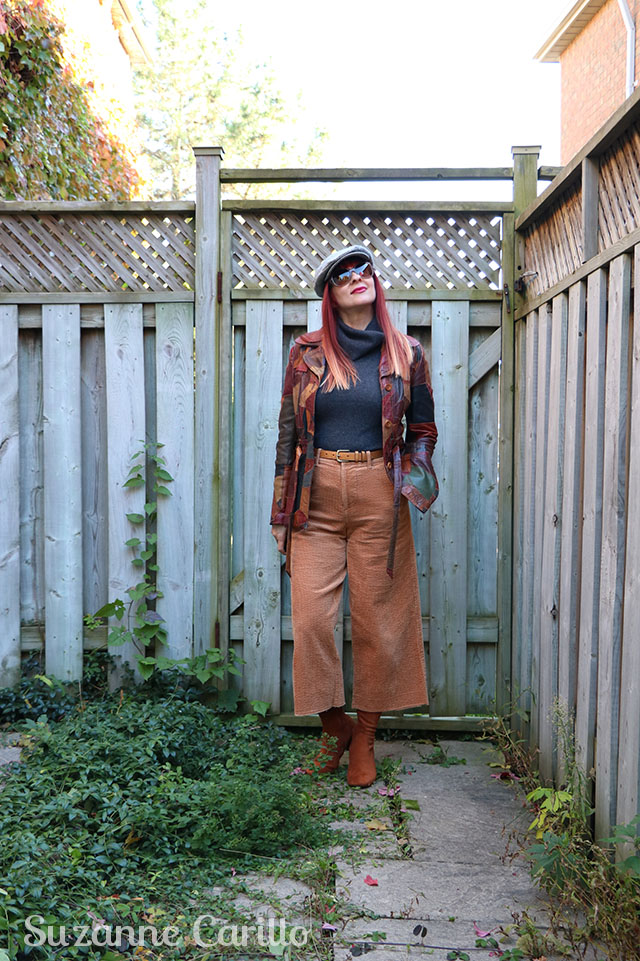 how to wear high waisted wide leg pants over 40 suzanne carillo