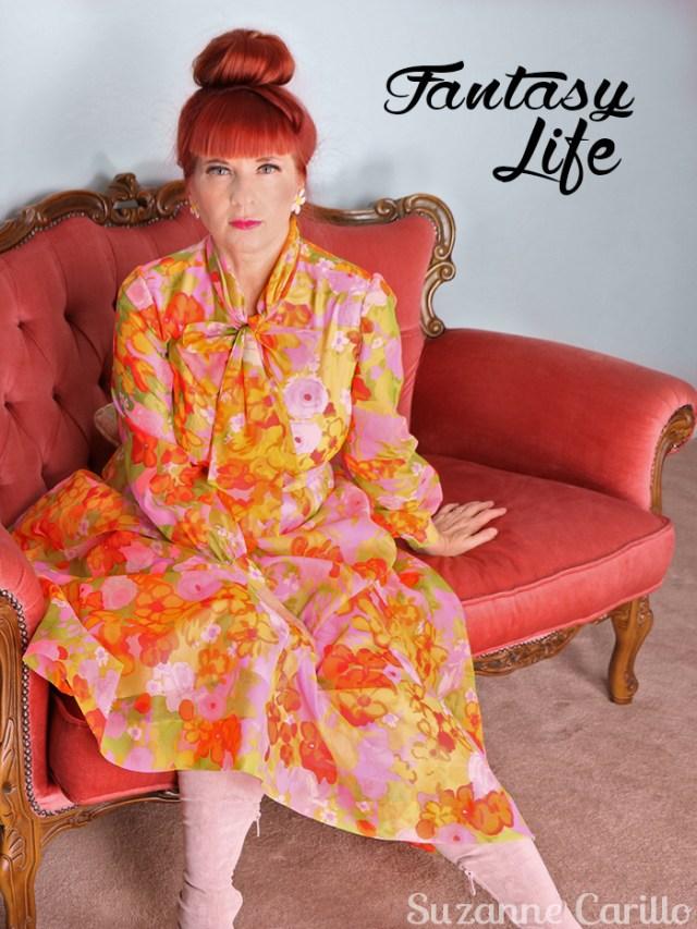 dressing for my fantasy life Suzanne Carillo