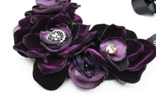 Lush violet necklace500