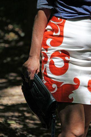 Close up skirt
