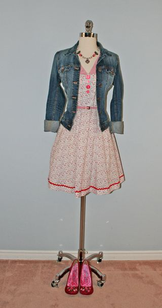 Pink_flower_dress_jean_jacket_heels_form