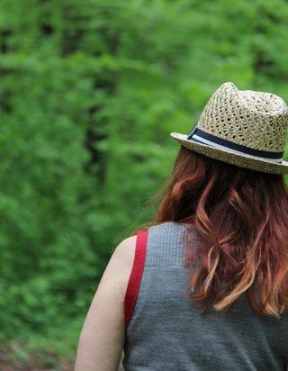 Back hat