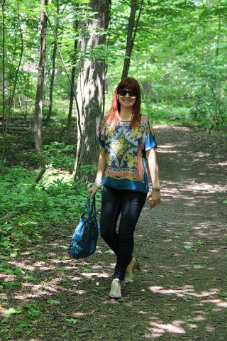Walking laugh