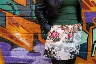 Anthro graphic skirt