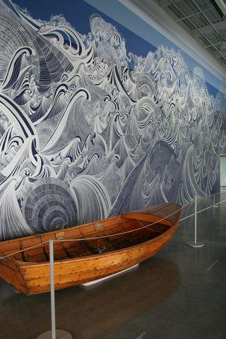 Boat seattle art museum