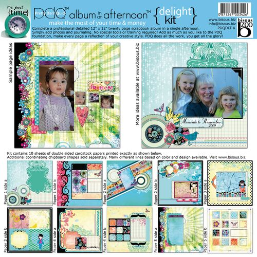 Delight scrapbooking kit