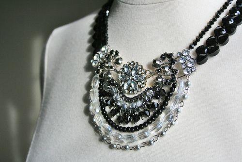 Jewel handmade necklace