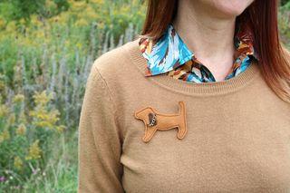 Doggie pin