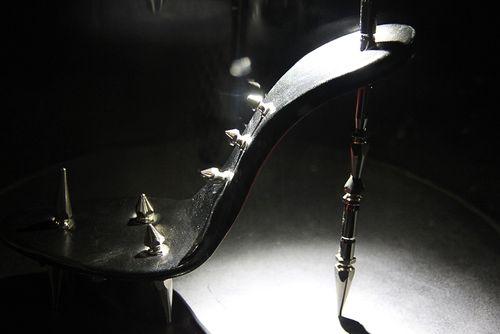 S&m louboutin shoe
