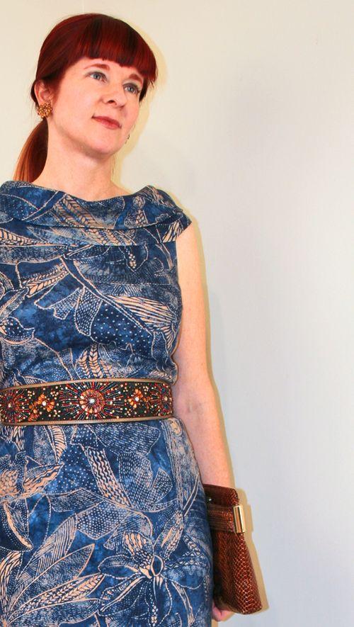 Blue sparkle belt anthropologie