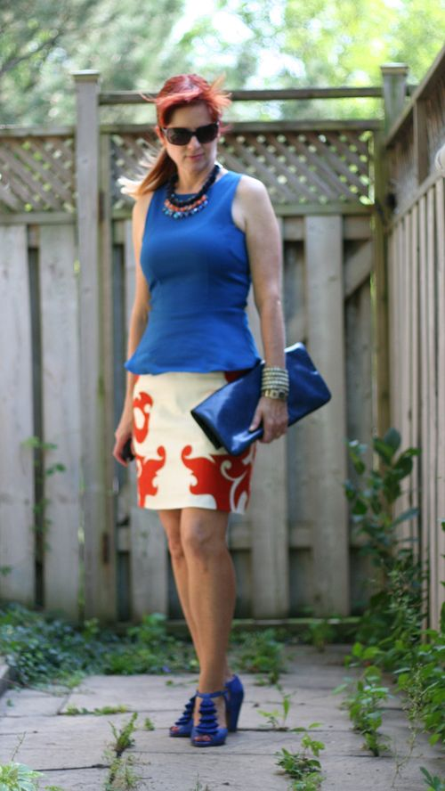Anthropologie flame skirt